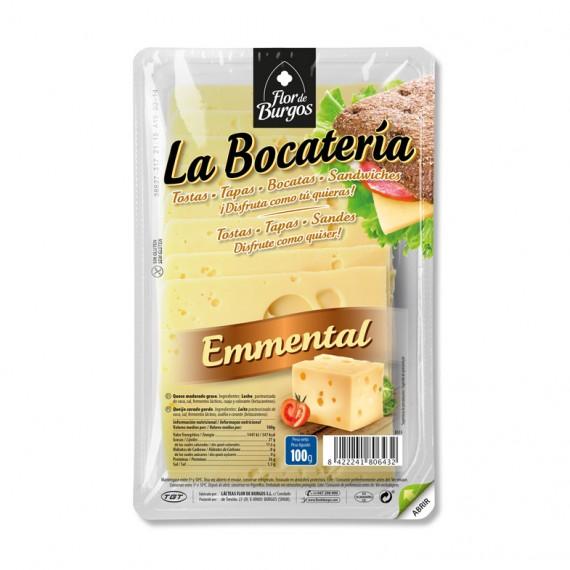queso emmental en lonchas 100g