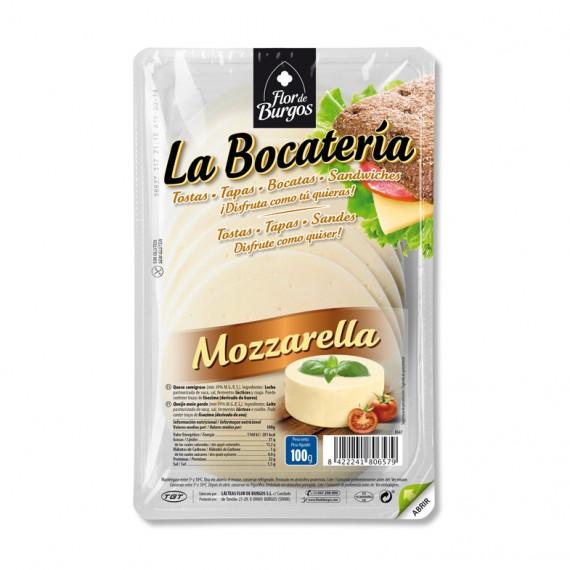 queso mozzarella en lonchas 100g