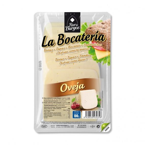 queso oveja en lonchas 100g