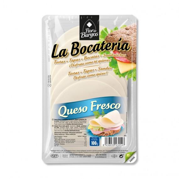 queso fresco en lonchas 100g