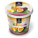 yogurt with peach and passion fruit 650g