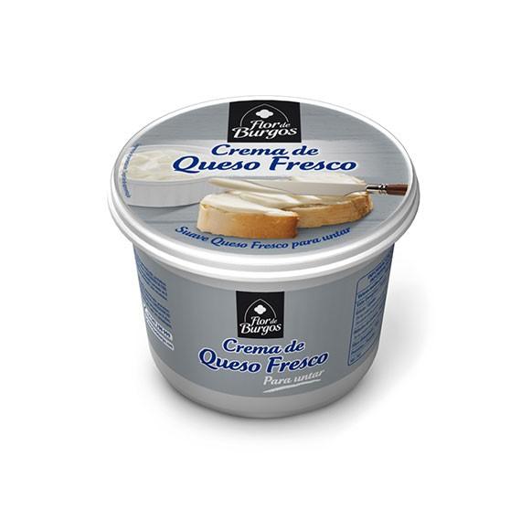 crema de queso fresco para untar 500g