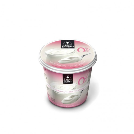 yogur natural desnatado 650g