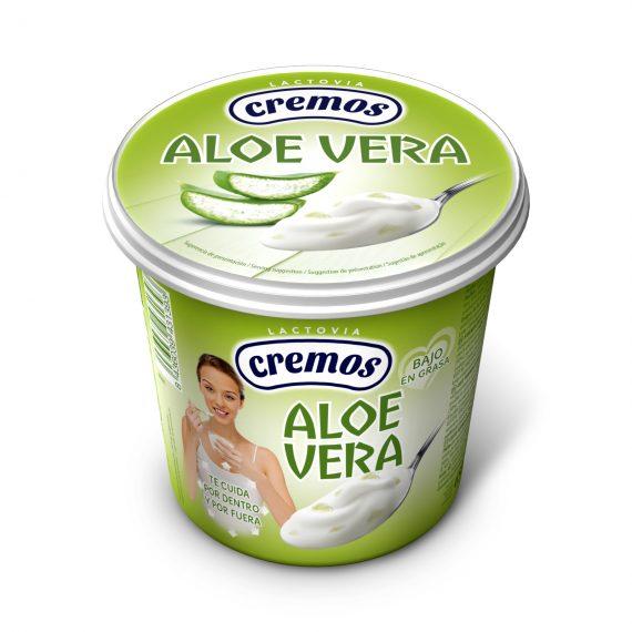 Flor de Burgos product: Aloe Vera yogurt 650g