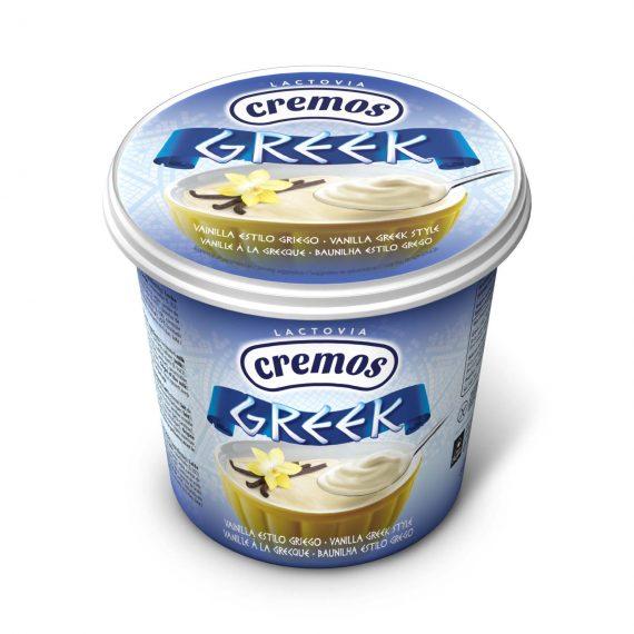 yogur griego vainilla cremos 650g