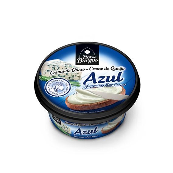 Producto Flor de Burgos crema de queso para untar: queso azul 125g