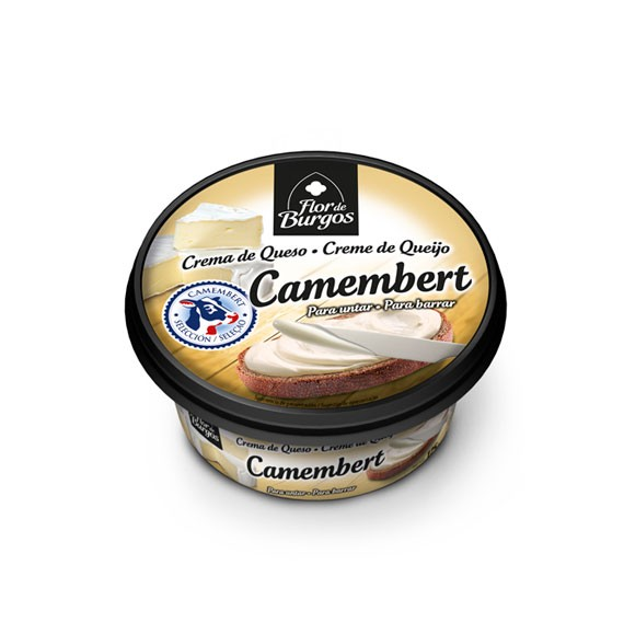 Flor de Burgos 125g spreadable camembert cream cheese