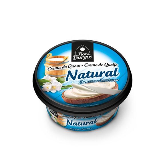 Producto Flor de Burgos crema de queso para untar: queso natural 100g