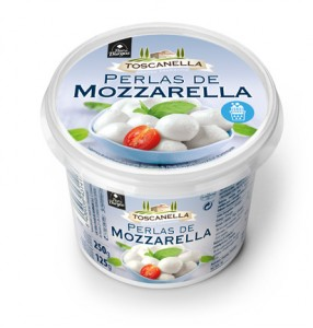 Flor de Burgos / Toscanella 250g/125g Mozzarella Pearls. Italian inspiration