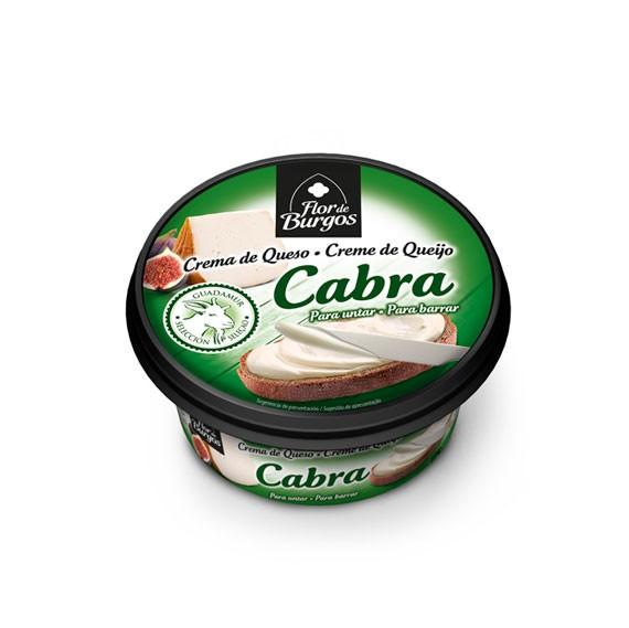 Flor de Burgos 125g spreadable goat cream cheese