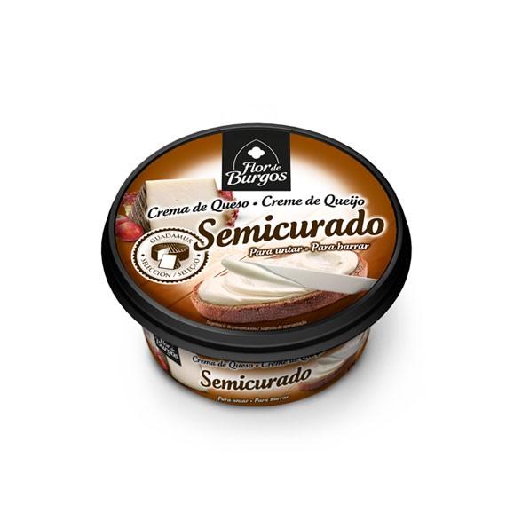 Flor de Burgos 125g spreadable semicured cream cheese