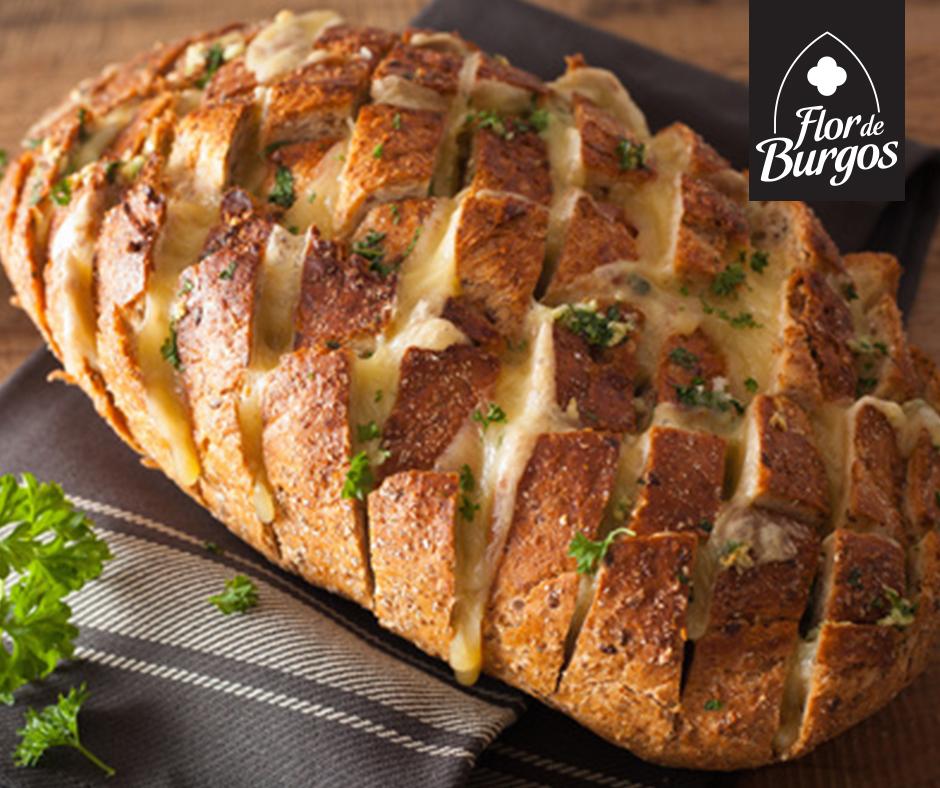 receta pan de ajo casero con queso
